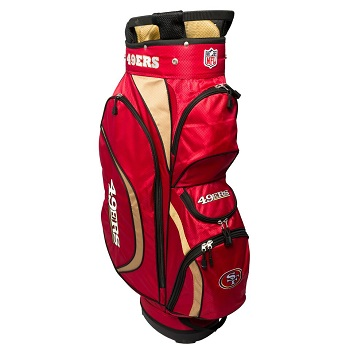 San Francisco 49ers Clubhouse Cart Golf Bag