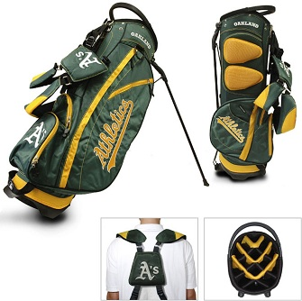 Oakland Athletics Carry Stand Golf Bag
