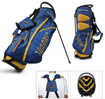 St. Louis Blues Carry Stand Golf Bag