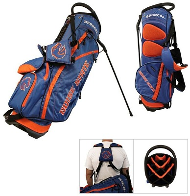 Boise State Broncos Carry Stand Golf Bag