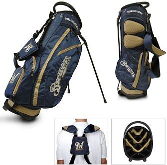 Milwaukee Brewers Carry Stand Golf Bag