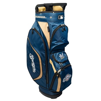 Milwaukee Brewers Clubhouse Cart Golf Bag