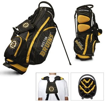 Boston Bruins Carry Stand Golf Bag