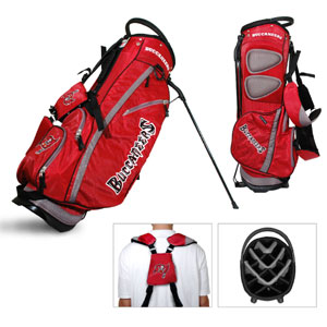 Tampa Bay Bucs Carry Stand Golf Bag