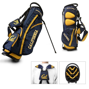 University of California Berkeley Golden Bears Carry Stand Golf Bag