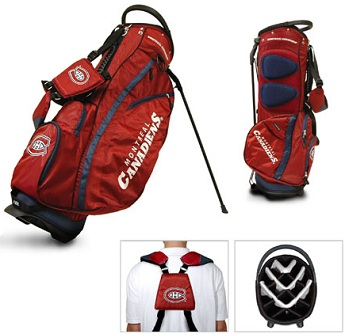 Montreal Canadiens Carry Stand Golf Bag