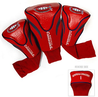 Set of 3 Montreal Canadiens Golf Headcovers
