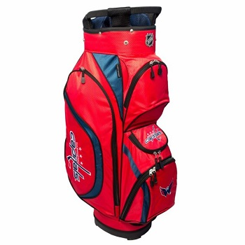 Washington Capitals Clubhouse Cart Golf Bag