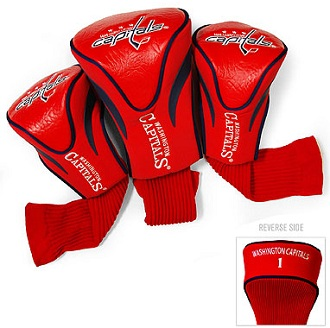 Set of 3 Washington Capitals Golf Headcovers