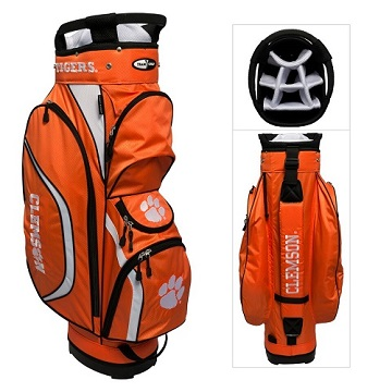 Clemson Tigers Clubhouse Cart Golf Bag