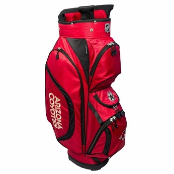 Arizona Coyotes Clubhouse Cart Golf Bag