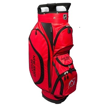 New Jersey Devils Clubhouse Cart Golf Bag