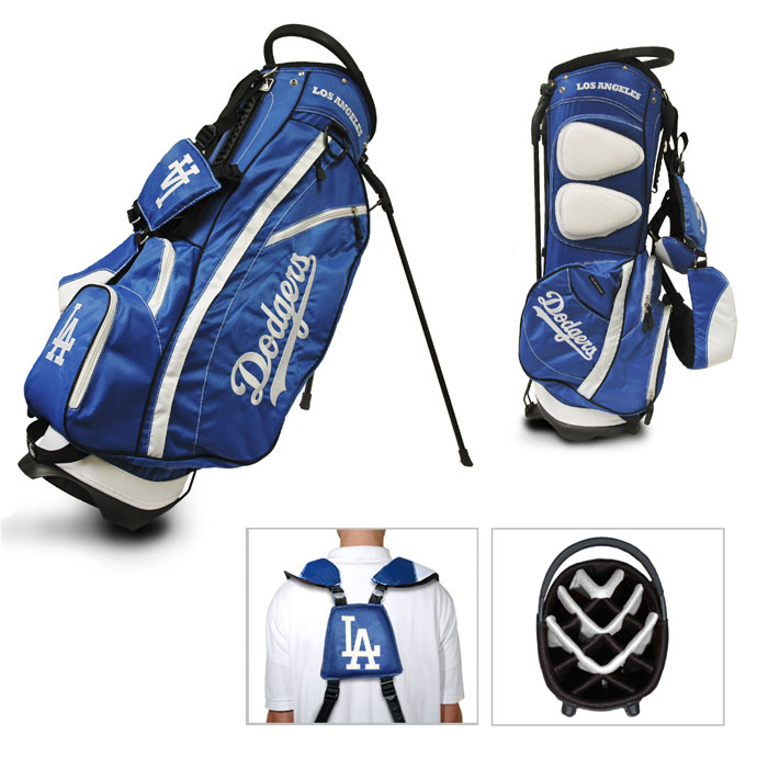 Los Angeles Dodgers Carry Stand Golf Bag