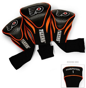 Set of 3 Philadelphia Flyers Golf Headcovers
