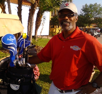Hal McRae with Kansas City Royals Golf Headcovers
