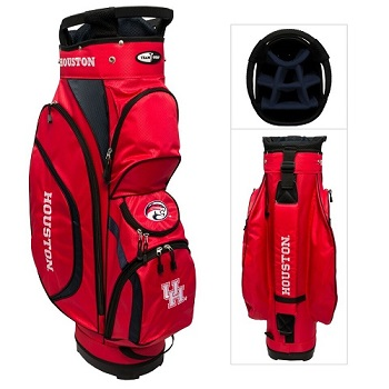 University of Houston Cougars Clubhouse Cart Golf Bag