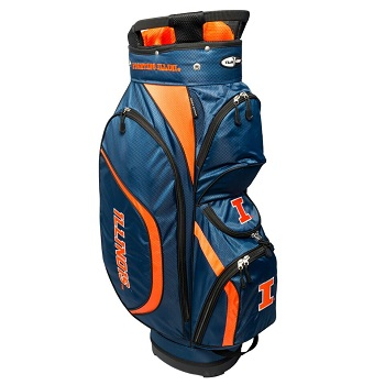 University of Illinois Clubhouse Cart Golf Bag