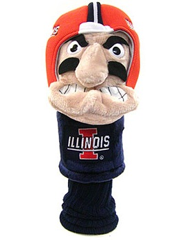 University of Illinois Mascot Driver Headcover