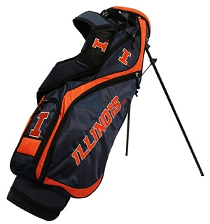 University of Illinois Nassau Stand Golf Bag