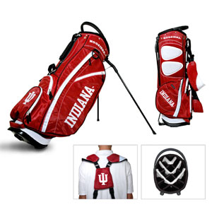 Indiana Hoosiers Carry Stand Golf Bag