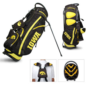 University of Iowa Carry Stand Golf Bag