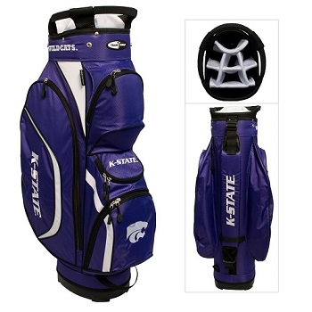 Kansas State Wildcats Clubhouse Cart Golf Bag