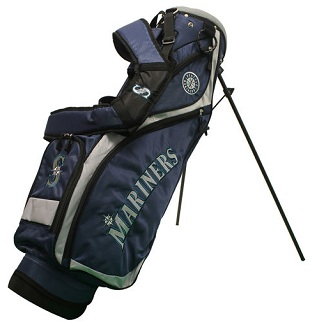 Seattle Mariners Nassau Stand Golf Bag
