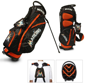 Miami Marlins Carry Stand Golf Bag