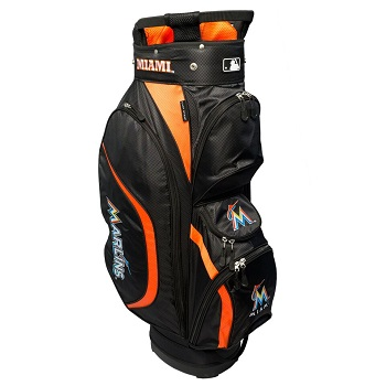 Miami Marlins Clubhouse Cart Golf Bag