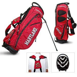 University of Maryland Carry Stand Golf Bag