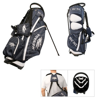 University of Nevada Wolf Pack Carry Stand Golf Bag