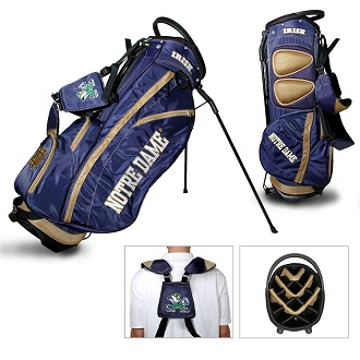 Notre Dame Carry Stand Golf Bag