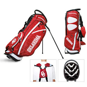 University of Oklahoma Carry Stand Golf Bag