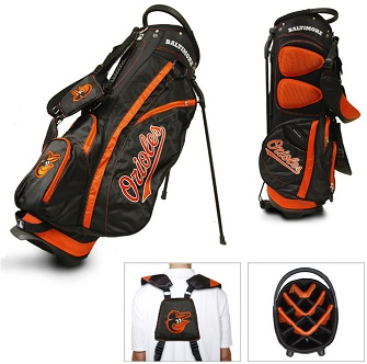 Baltimore Orioles Carry Stand Golf Bag