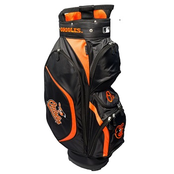 Baltimore Orioles Clubhouse Cart Golf Bag