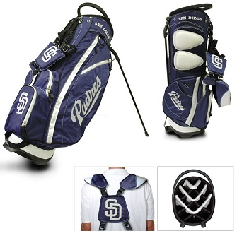 San Diego Padres Carry Stand Golf Bag