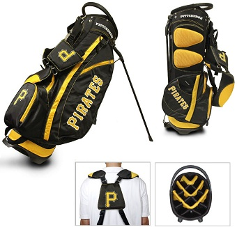 Pittsburgh Pirates Carry Stand Golf Bag