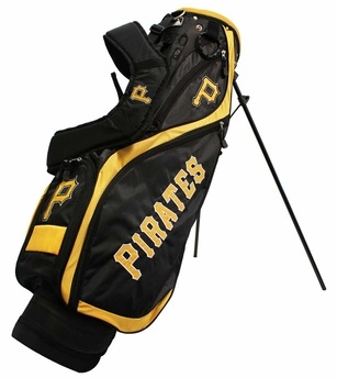 Pittsburgh Pirates Nassau Stand Golf Bag