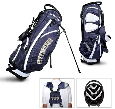 University of Pittsburgh Panthers Carry Stand Golf Bag