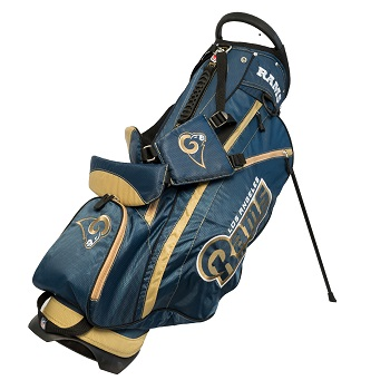 Los Angeles Rams Fairway Stand Golf Bag
