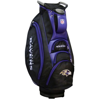 Baltimore Ravens Cart Golf Bag