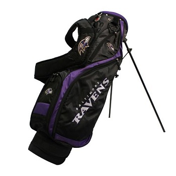 Baltimore Ravens Nassau Stand Golf Bag