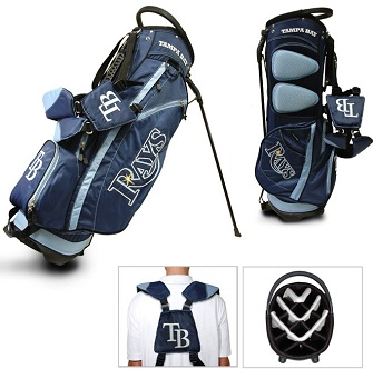 Tampa Bay Rays Carry Stand Golf Bag