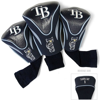 Set of 3 Tampa Bay Rays Golf Headcovers