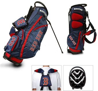 Boston Red Sox Carry Stand Golf Bag