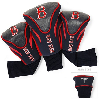 Set of 3 Boston Red Sox Golf Headcovers