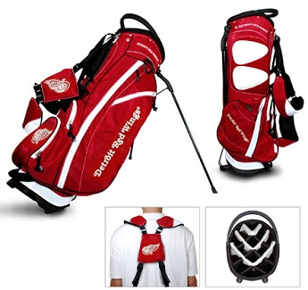 Detroit Red Wings Carry Stand Golf Bag