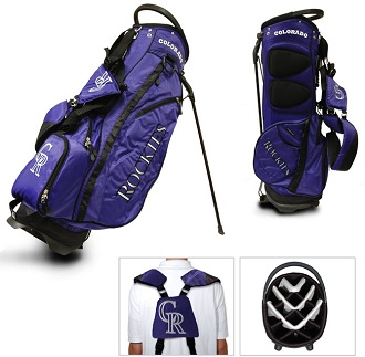 Colorado Rockies Carry Stand Golf Bag