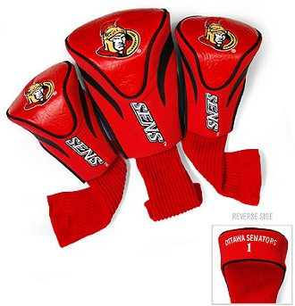 Set of 3 Ottawa Senators Golf Headcovers