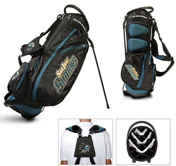 San Jose Sharks Carry Stand Golf Bag